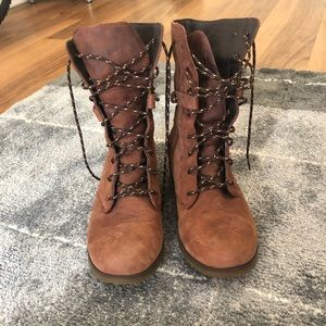 Teva Women's Delavina Brown Lace Boots
